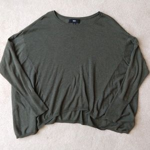 Mossimo Olive Green Lightweight Sweater